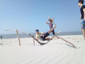 balade à la plage